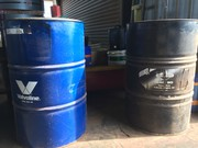 ENGINE OIL (BRIGGS & STRATTON) AND HYDRAULIC OIL ( VALVOLINE)