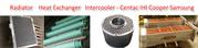Air compressor cooler replacement of Atlas Copco,  Ingersoll Rand