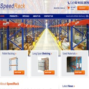 Speedrack: One store for all your warehouse storage solutions.